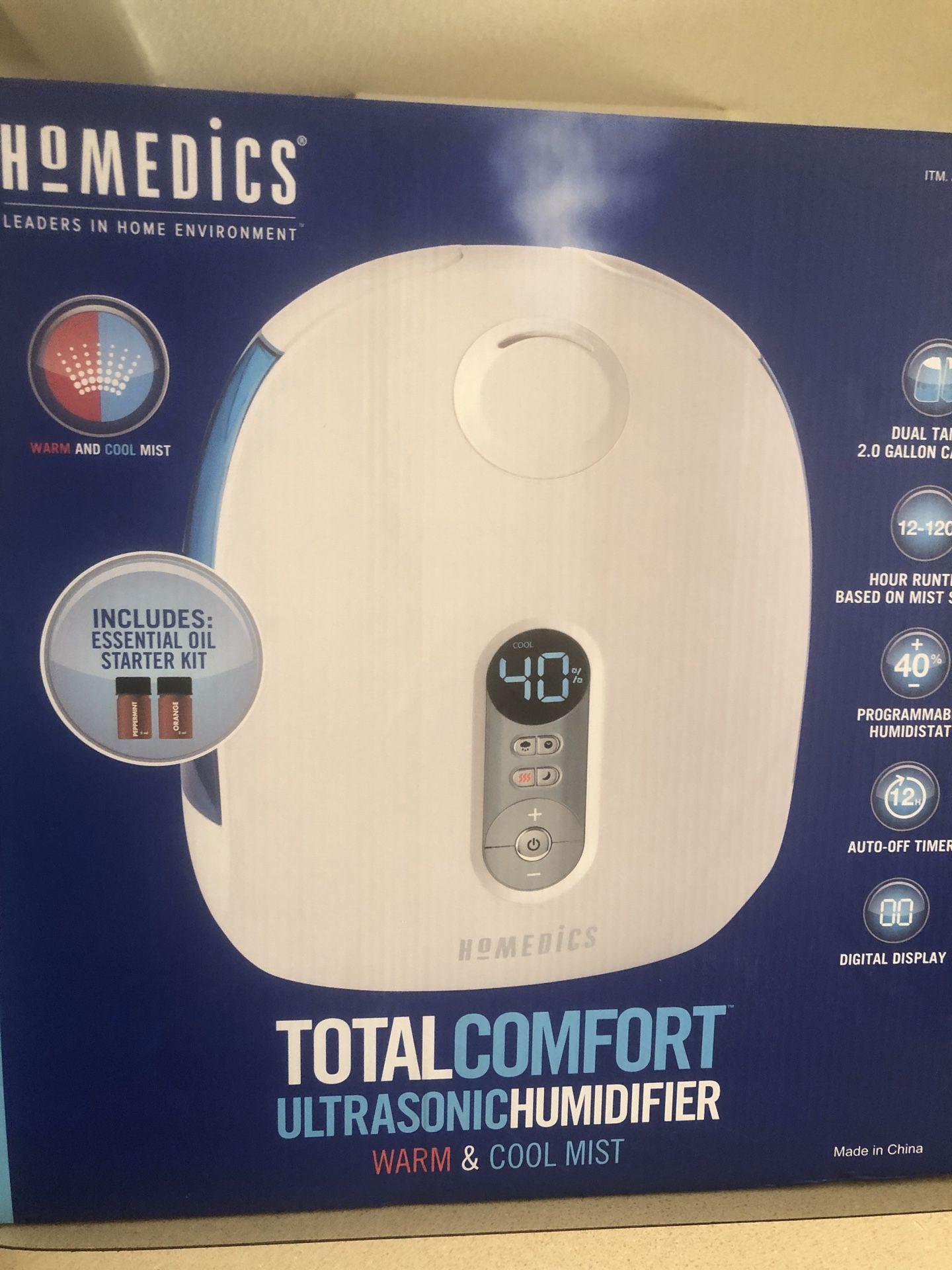 Homedics Ultrasonic Humdifier