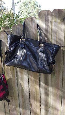 Black overnight bag Thumbnail