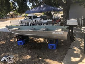 New And Used Fishing Boats For Sale In Visalia CA OfferUp - Picnic table boat for sale