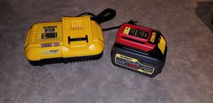 Dewalt Flexvolt 60V Max Battery and Fast Charger for Sale in Grand Prairie, TX