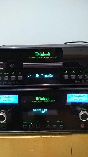 McIntosh MVP891 Blu-ray DVD CD SACD Player for Sale in