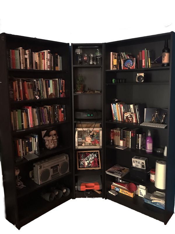 Ikea Billy Corner Bookcase Package