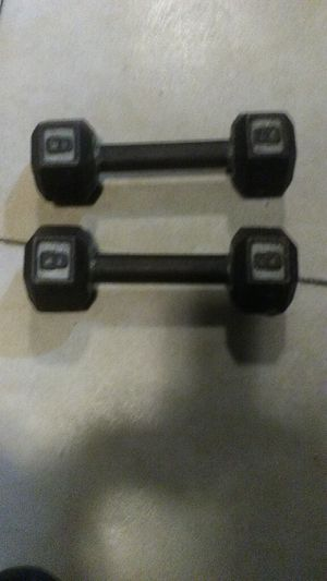 8 bls dumbbells for Sale in Los Angeles, CA