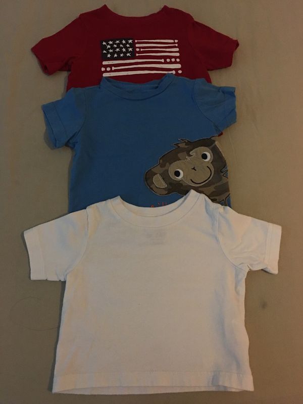 833b867fc Baby boy tshirts 6-9 months for Sale in San Jacinto