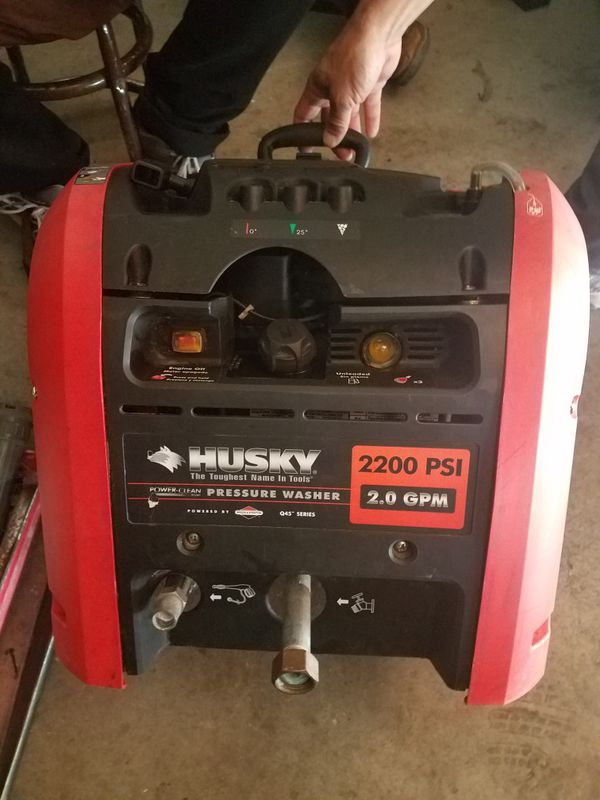 Offer Up San Diego >> Husky Gas Pressure Washer Q45 Series 2200 PSI 2.0 GPM for ...
