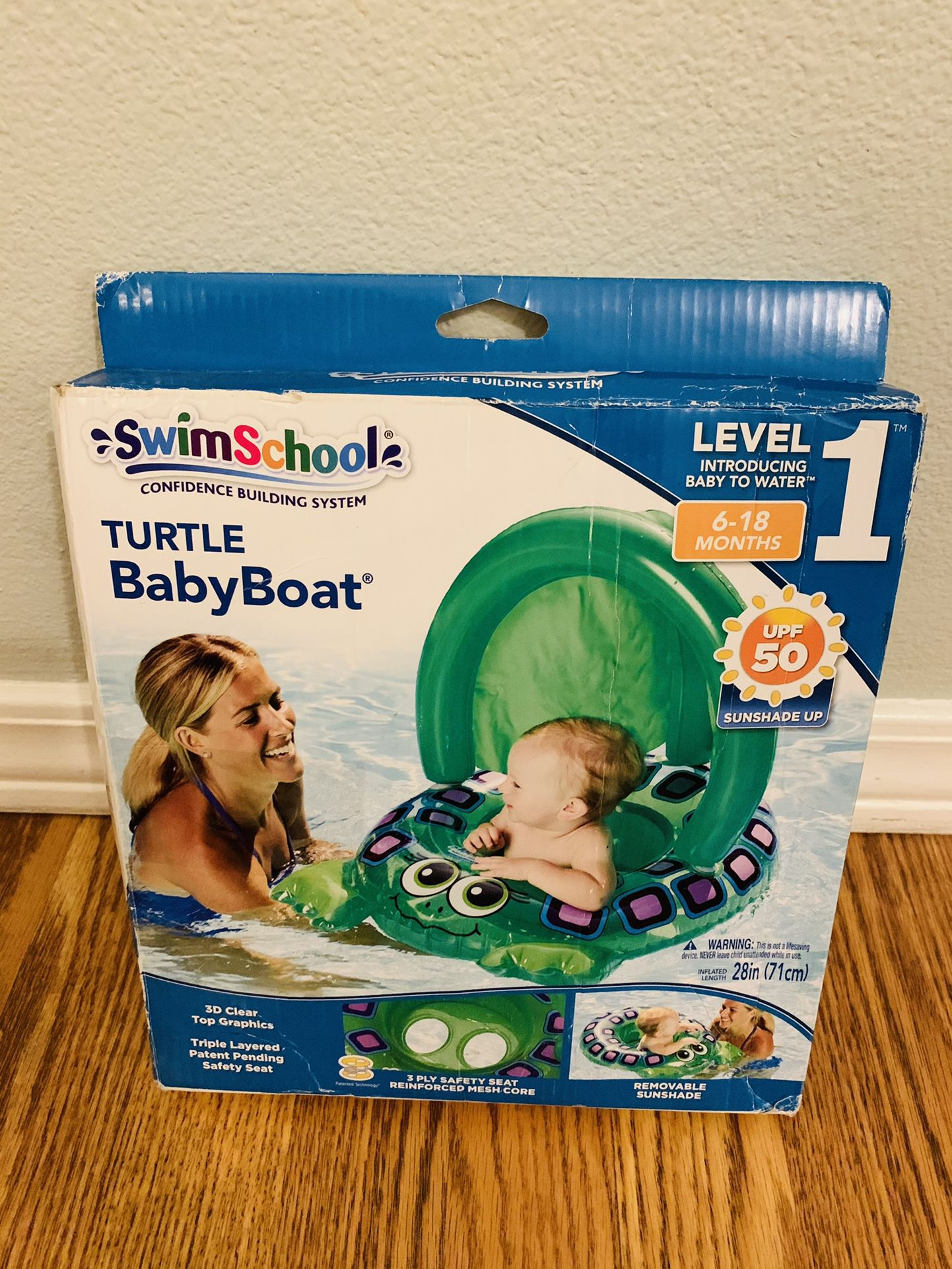 Baby Swimming Turtle Float