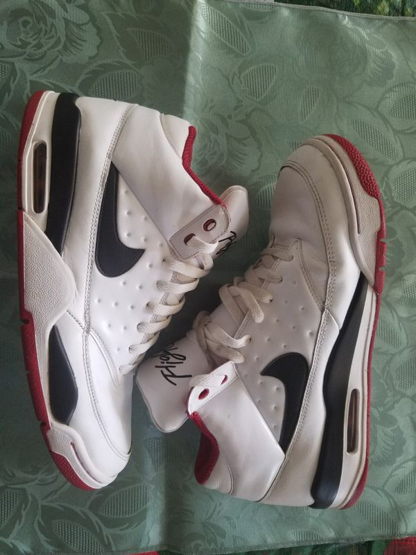 on sale fa541 402b0 GENTLY USED NIKE AIR FLIGHT CLASSIC MENS BASKETBALL SHOES 414967-100 Size 12