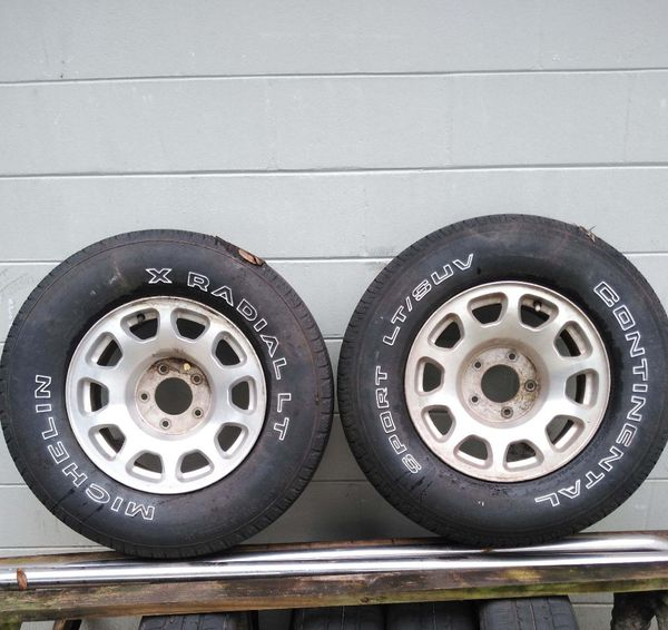 2000 F150 Spare Rims And Tires For Sale In Orlando, FL