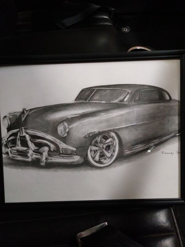 I will draw your car 25$ in a frame (Arts & Crafts) in Phoenix, AZ ...