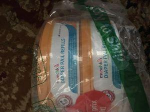 Munchkin diaper pail liners new bulk pack for Sale in Herndon, VA