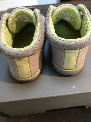 Clark First Soft Children /Infant Toddler Boy Shoes US 7W/ EU23 Grey for Sale in Newcastle, WA