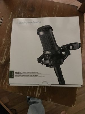 AT2035 Cardioid Condenser Microphone (Shock Mount Included) for Sale in Charles Town, WV