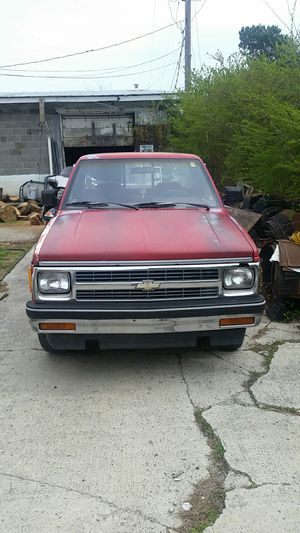 Photo 92 chevy s 10 4 cyl 5sp