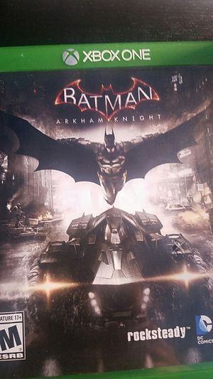Batman arkham knight for xbox for Sale in Chicago, IL
