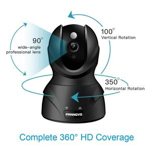 Wireless 1080P HD Wifi IP Home Security Camera 2-Way Audio Night Vision Pan Tilt for Sale in New York, NY