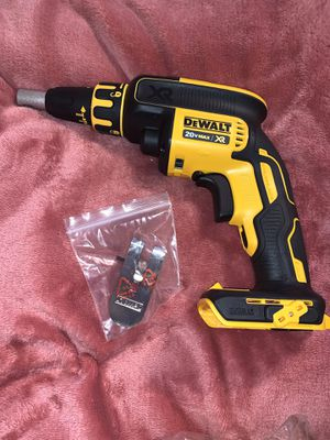 Photo PRECIO FIRME- FIRM PRICE DEWALT XR SCREWGUN ( TOOL ONLY) NO BATTERY NO CHARGER