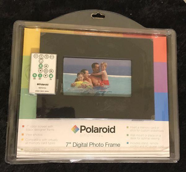 Polaroid 7 Digital Picture Fram 00711s Usb Host Port For Sale In