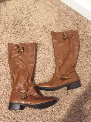 Brown boots for Sale in Silver Spring, MD