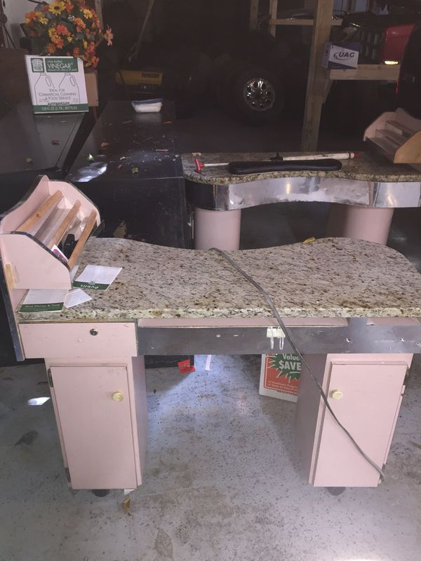 Nail salon working desks for Sale in North Charleston, SC - OfferUp