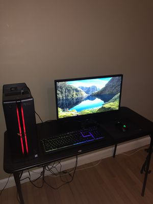 Full Gaming Computer Setup for Sale in Malden, MA