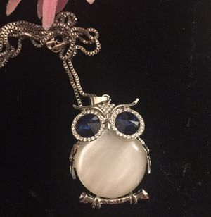 Opal owl necklace. for Sale in Denver, CO