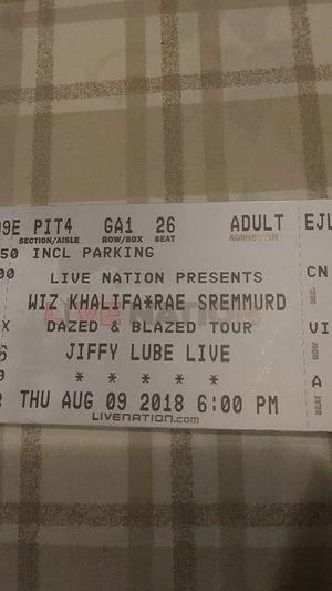 Wiz tickets!! PIT for Sale in Fairfax, VA