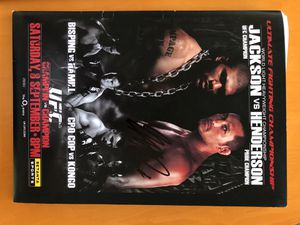 UFC 75 signed press pack. Randy couture and George st Pierre signed. for Sale in Scottsdale, AZ