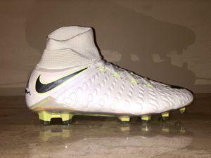 10b0ea9f7de8 Nike Hypervenom Phantom 3 Elite DF FG Soccer Cleats AJ3803-107 Men s US 8.5  for
