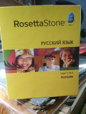 Rosetta Stone 1,2,3 (Russian) for Sale in Bremerton, WA