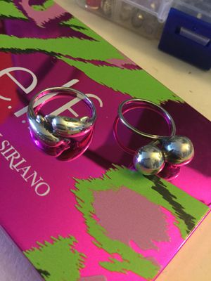 Beautiful Sterling Silver 💍 * RINGS * 💍 Dolphin ring & Silver balls ring Each priced $25 🦋 for Sale in Alexandria, VA