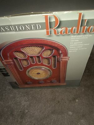 Old fashion radio New for Sale in Alexandria, VA