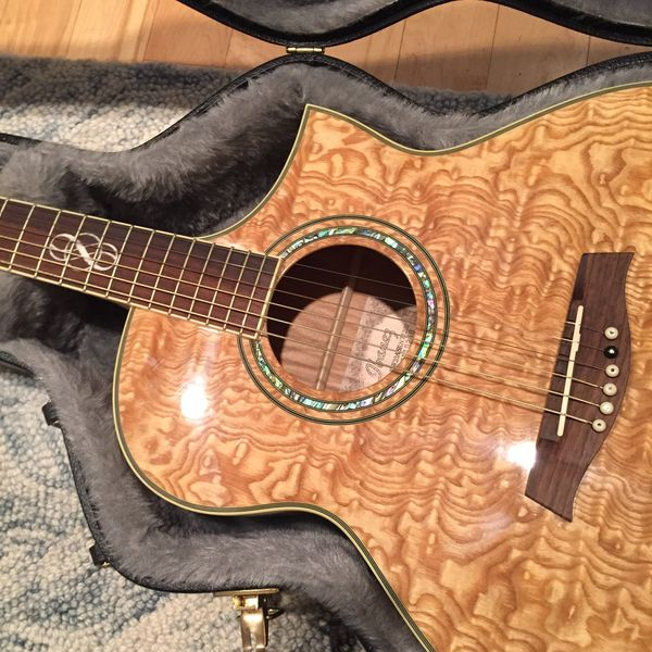 Ibanez Exotic Wood Acoustic Electric Guitar Ew20 For Sale In