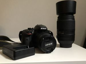 Nikon D3400 with two lens bundle for Sale in Lebanon, OH