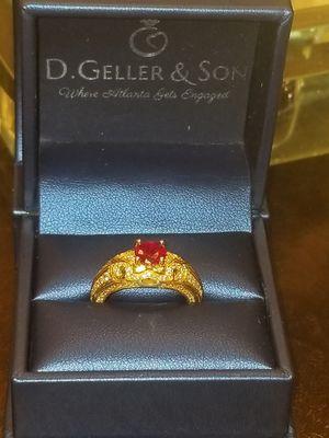 14k ruby engagement ring. 6.5 for Sale in Atlanta, GA