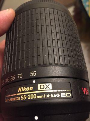 Nikon camera lens for Sale in Ashburn, VA
