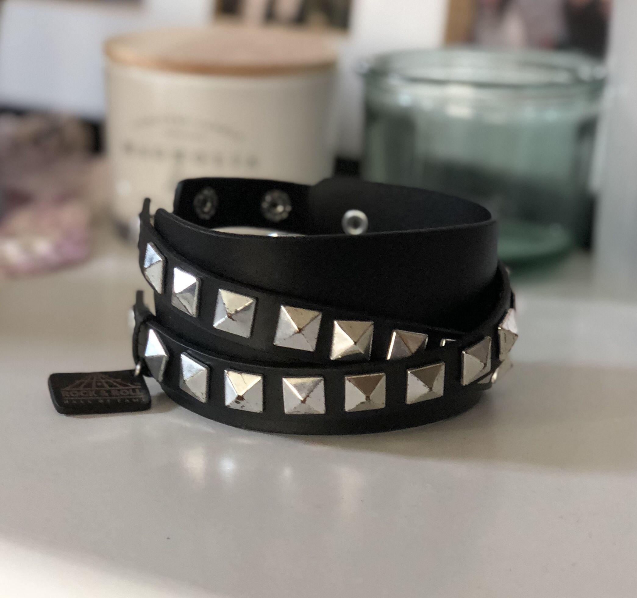 Rock & Roll Spiky Bracelet.