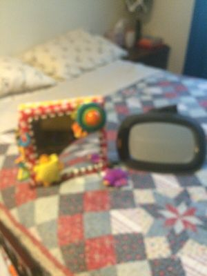 Baby crib mirror and baby car mirror for Sale in Silver Spring, MD