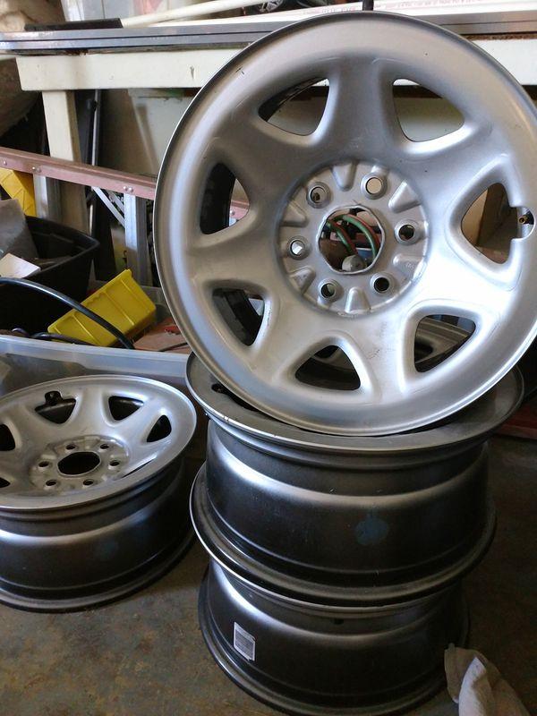 Steel Chevy Silverado Rims For Sale In Galena Oh Offerup