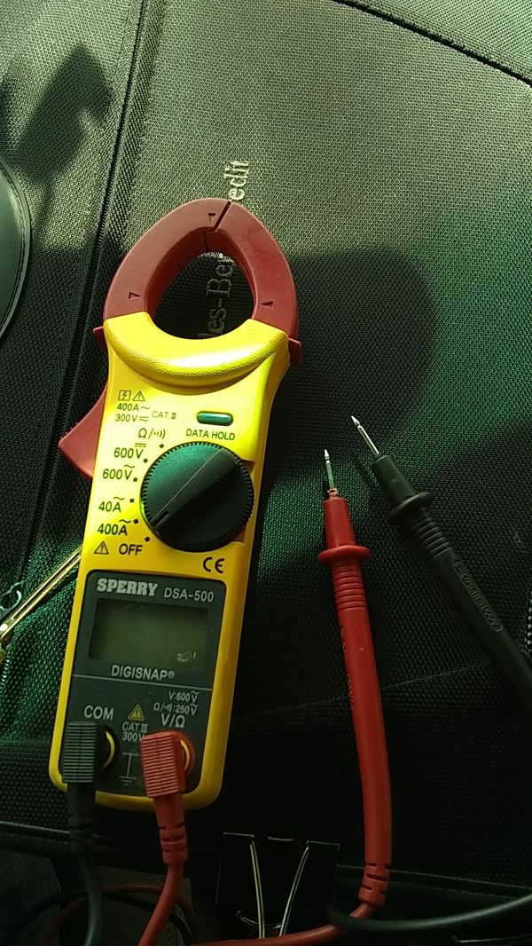 Sperry dsa500 instruments snap around clamp meter model – tapcar. Co.