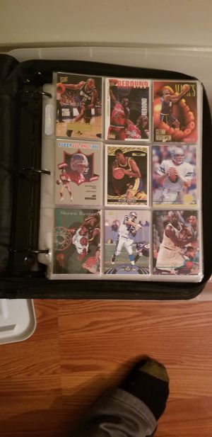 Lot of 90s basketball, football and a handful of baseball cards for Sale in Arlington, VA