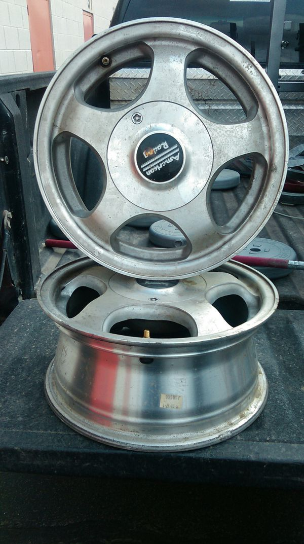 14 inch American racing wheels (Auto Parts) in Spokane, WA - OfferUp