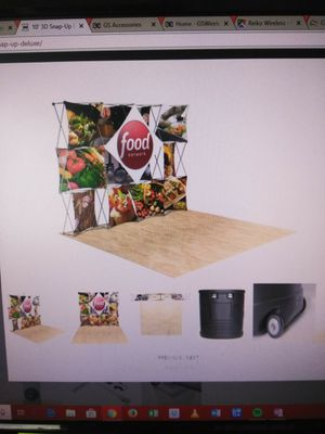 #2 8FT 3D snap up display kit for Sale in San Diego, CA