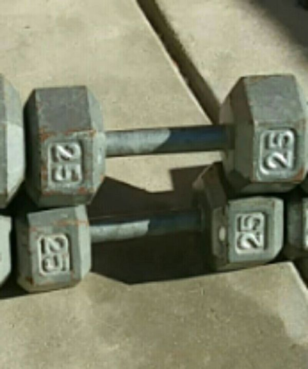 9b8c0aa6c629a Fitness Gear 25 lb Cast Hex Dumbbell 4.5 out of 5 stars. Read reviews. (35)