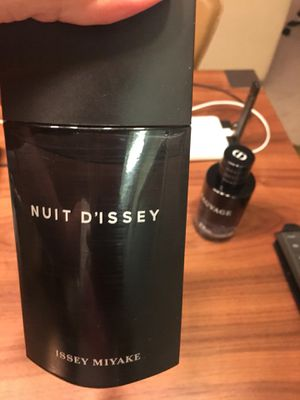 Issey Miyake Nuit D'Issey Men's Cologne - barely used for Sale in Bethesda, MD