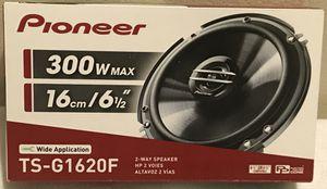 """NEW Pioneer 6.5"""" inch (6 1/2"""") 300 Watts Car Audio Speakers (pair of 2) for Sale in San Jacinto, CA"""