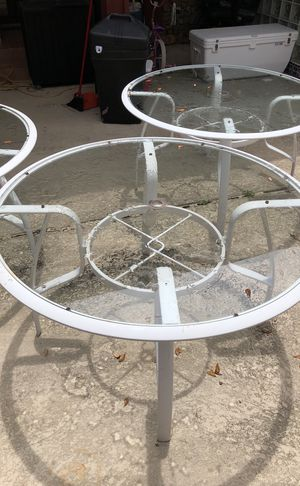 Glass Outdoor Tables for Sale in Hollywood, FL