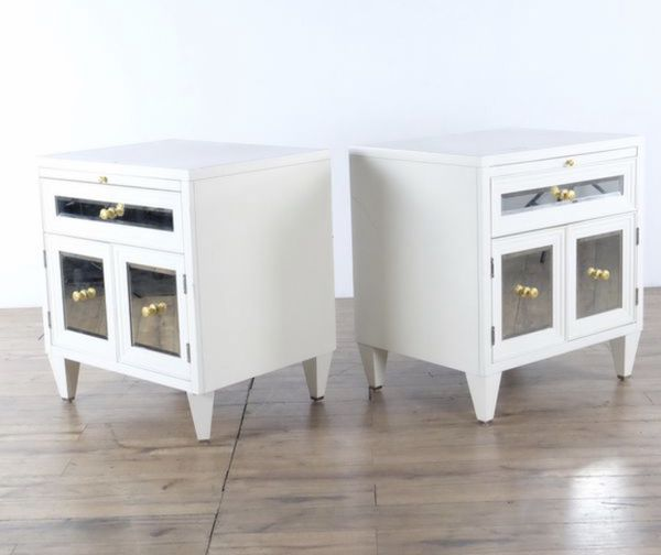 Z Gallerie Concerto Night Stands 2 For Sale In Huntingtn