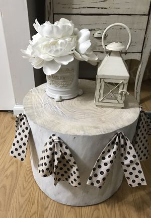 Pine End Table/Ottoman for Sale in Frederick, MD