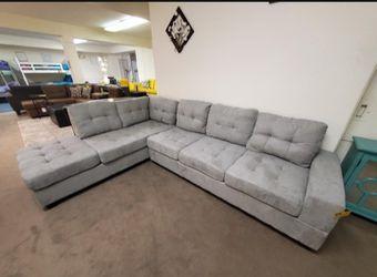 Maston Light Gray Reversible Sectional /couch /Living room set  Thumbnail