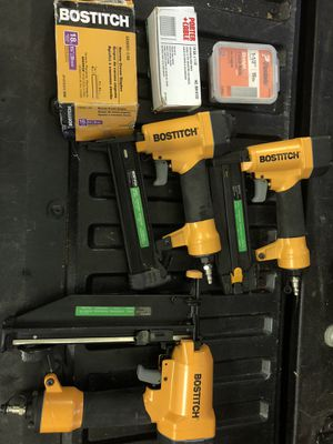 Bostitch Air Nailer(s) Lot of 3 for Sale in Marriottsville, MD